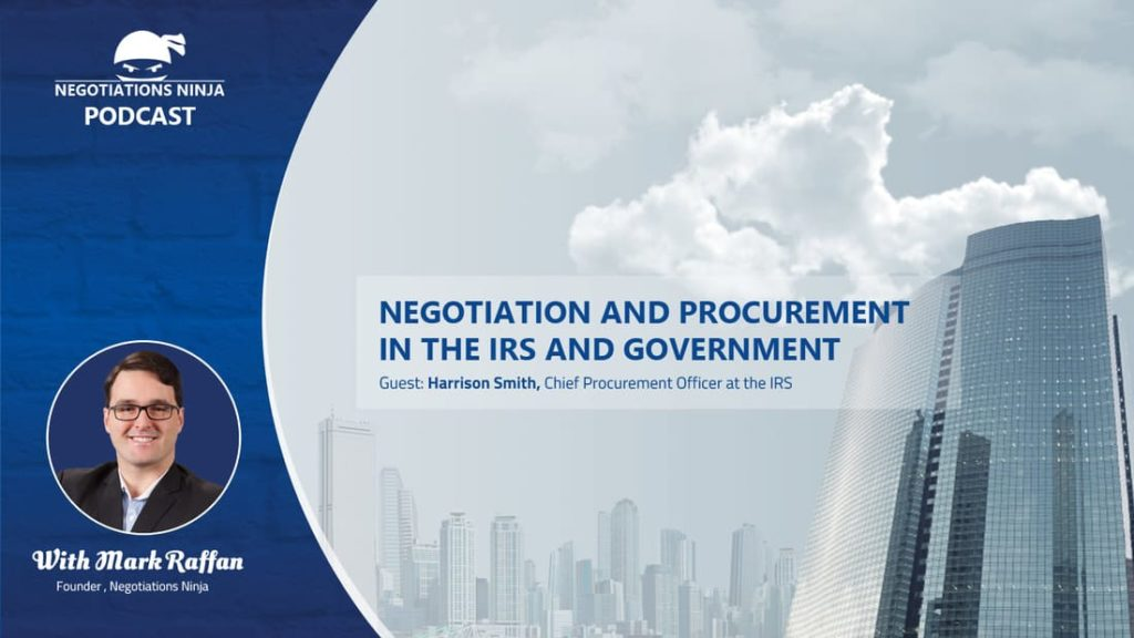 Episode 57 – Procurement and Negotiation in the Government