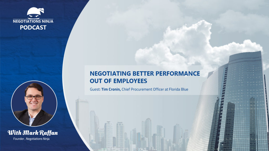 Episode 62 – Negotiating Better Performance from Employees