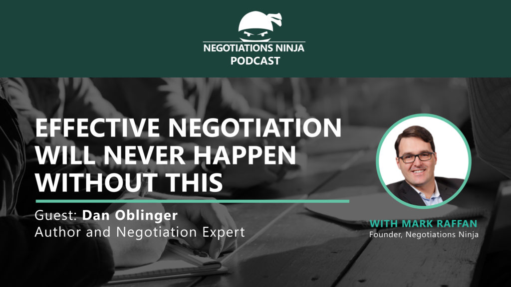 Effective negotiation banner - Dan Oblinger - 119