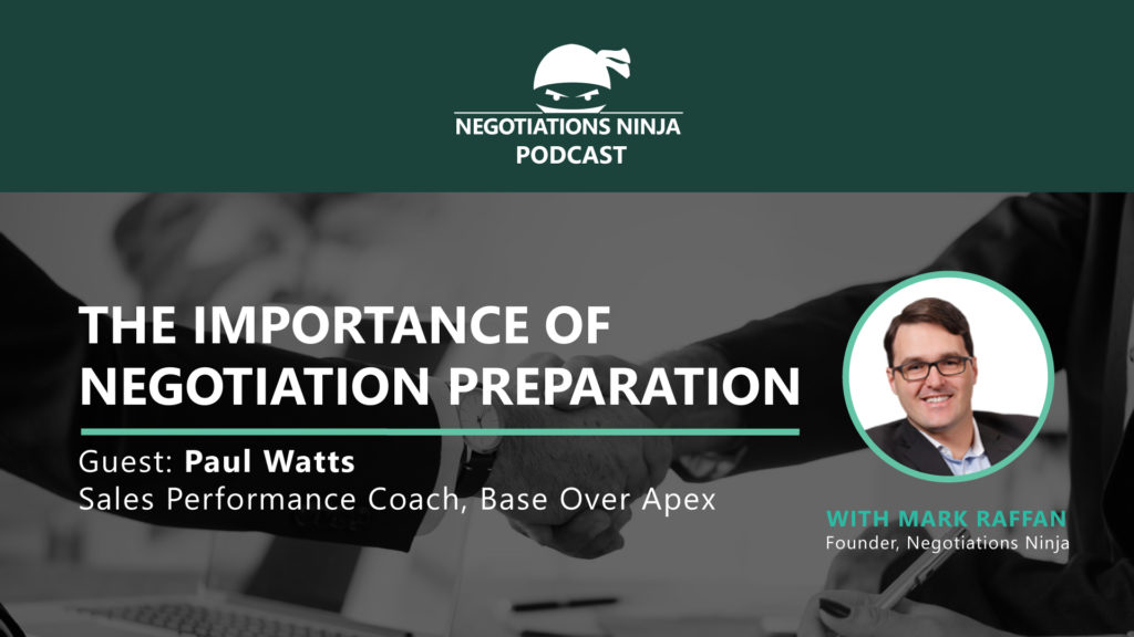 Negotiation Preparation