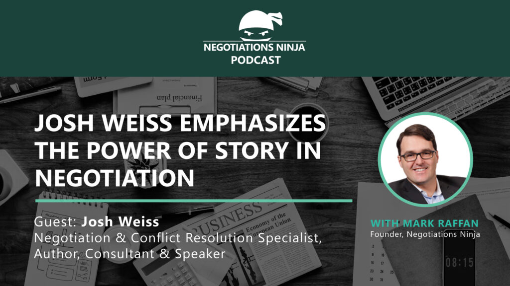 Josh Weiss on the power of story