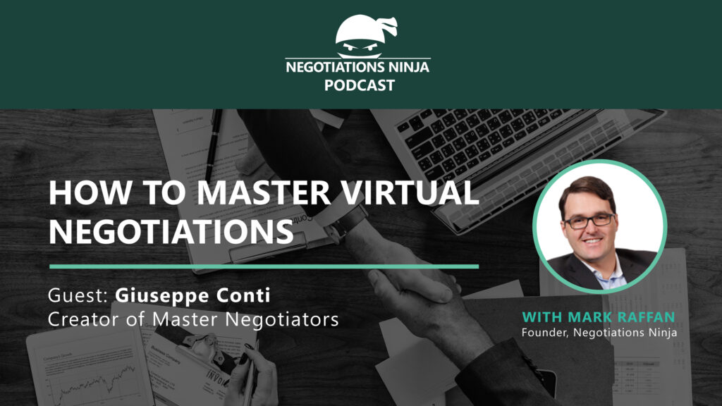 Giuseppe Conti Virtual Negotiations