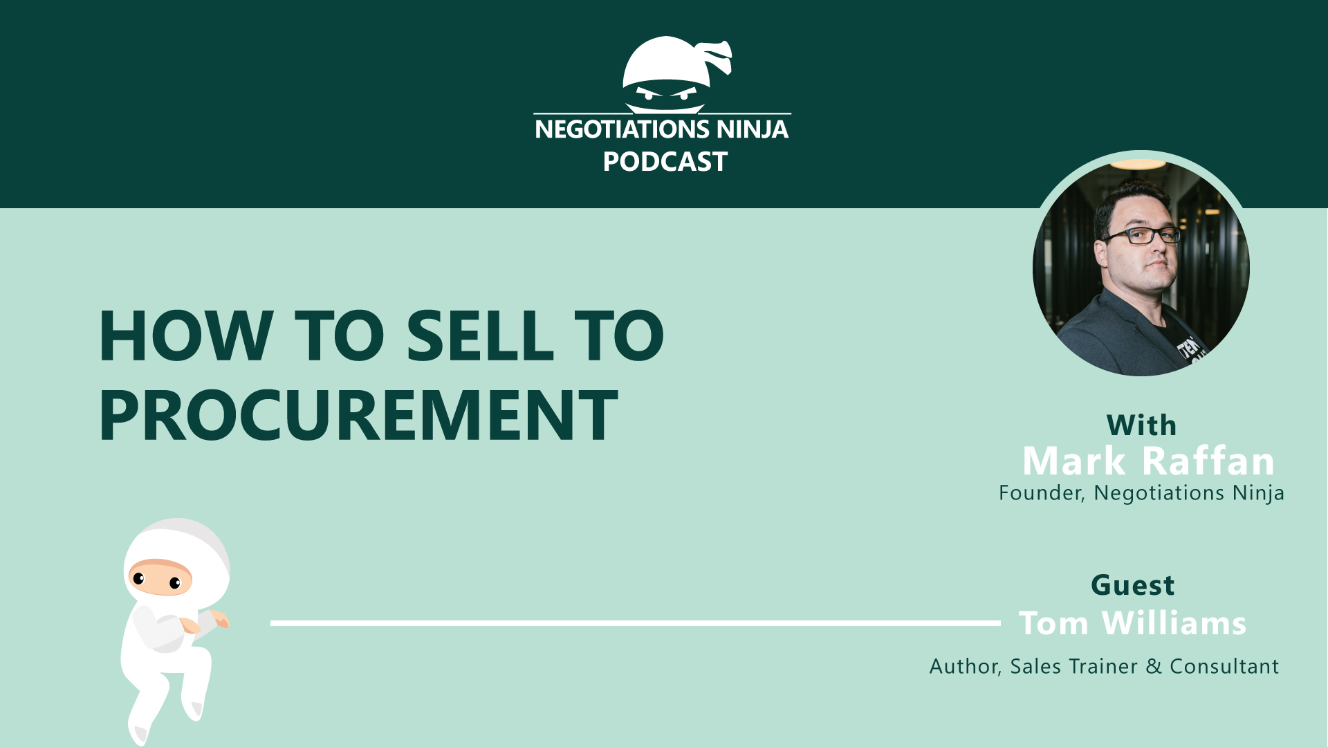 How to Sell to Procurement Tom Williams