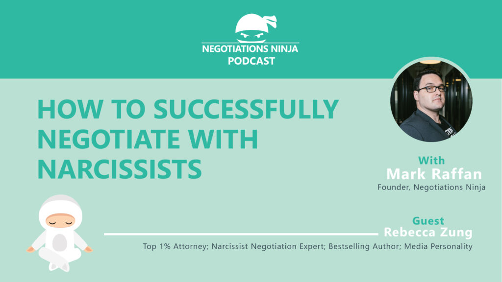 Rebecca Zung Shares How to Negotiate with Narcissists