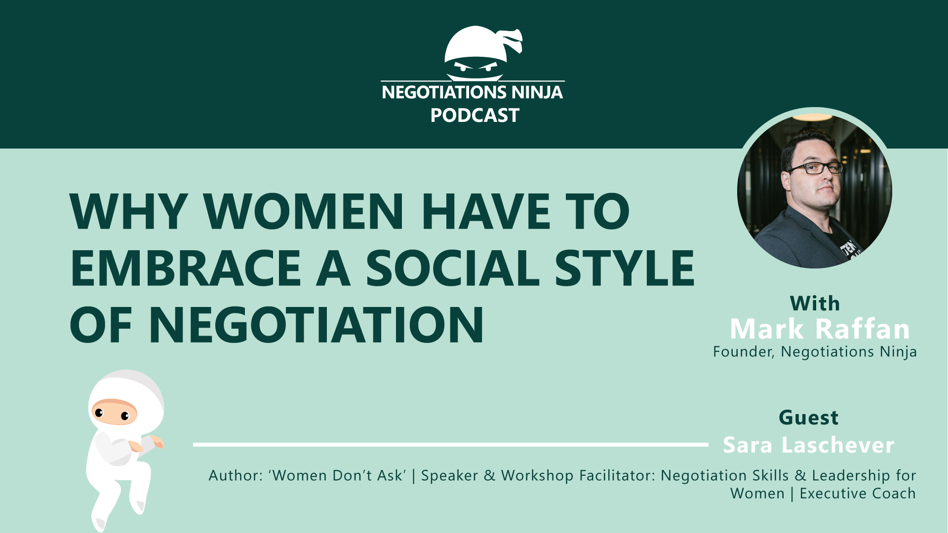 Why Women Have to Embrace Social Negotiation